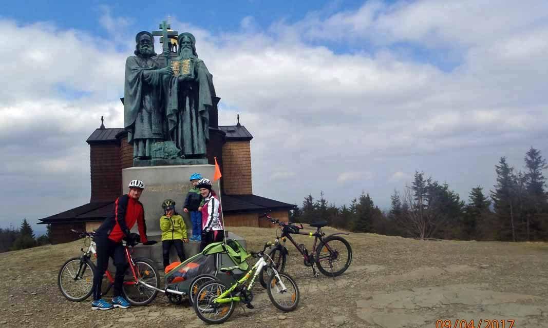 Jiří Štábl vyrazil do kopců s vozíkem