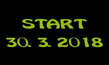 Startujeme už 30. března!