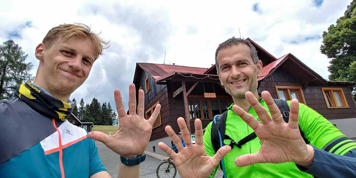 Adam Viktorín a Petr Babica uběhli vrcholy za 5 dní