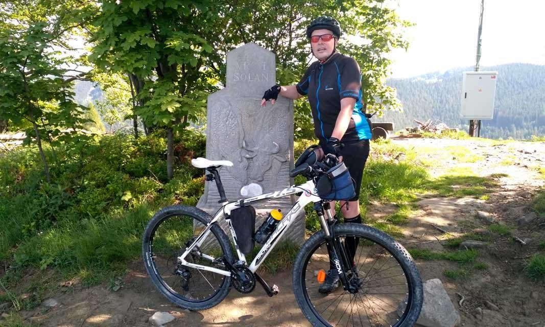 Miroslav Kašpar vyrazil ke všem vrcholům ze Lhoty