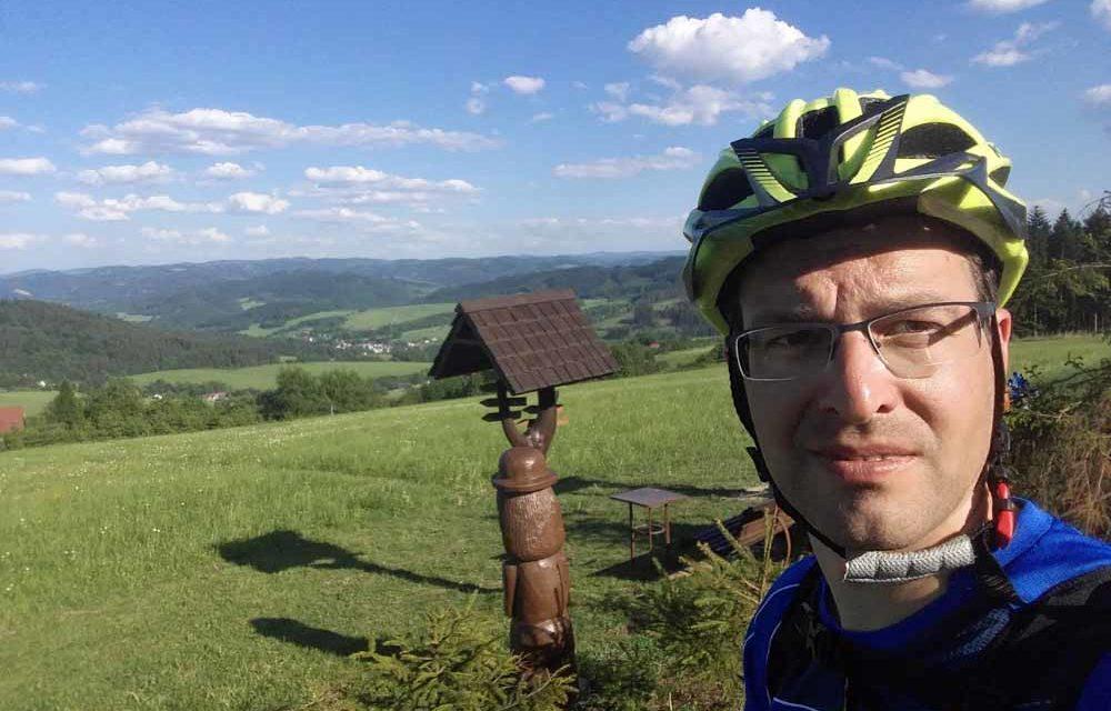 Zdeněk Vidlář si odbyl VKV debut