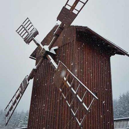 Větrný mlýn Medůvka