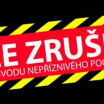 Sobotní vyjížďka přes Javorníky ZRUŠENA!