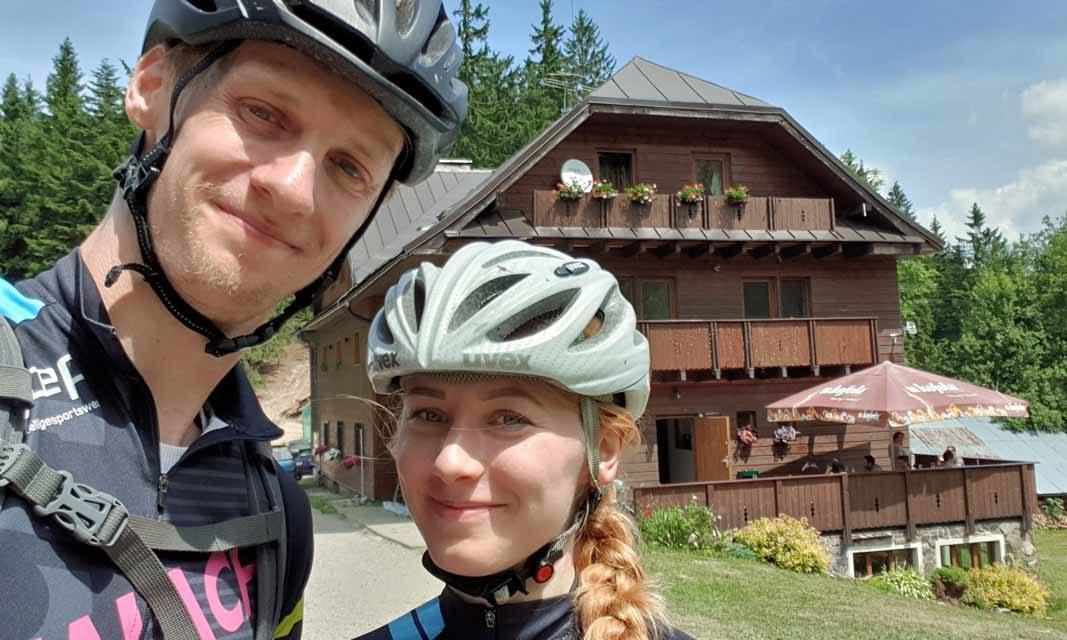 Gabriela Plačková a Adam Viktorin zdolávali kopce opět společně