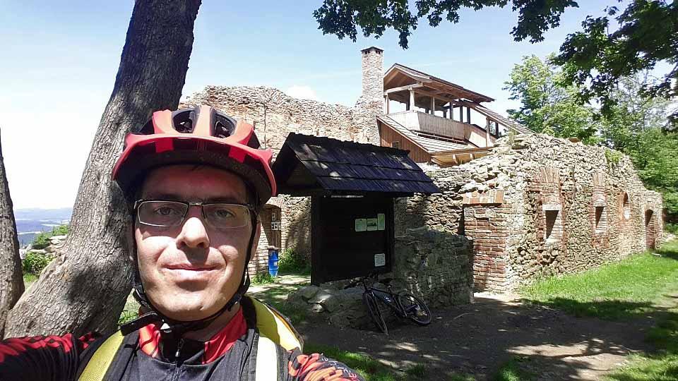 Jiří Valoušek ve VKV hájí barvy Old School Bike Riders Valmez