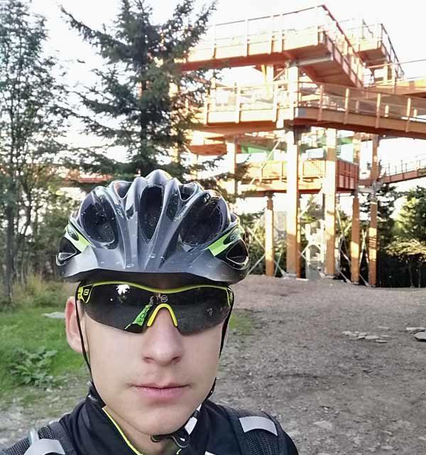 Jakub Černota pokořil 50 vrcholů