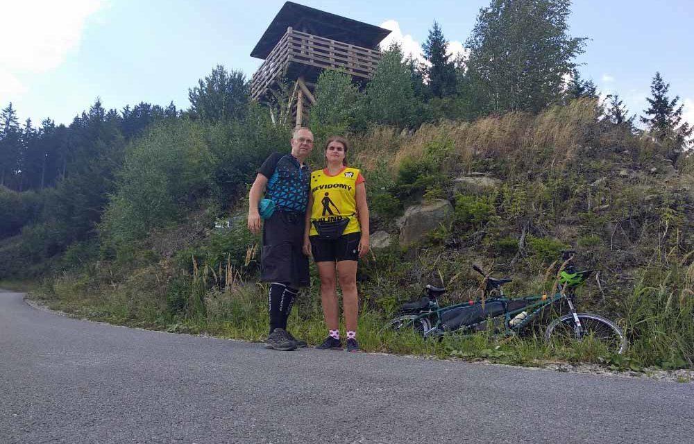 Nevidomá Hana Jetelová opět pokořila VKV!