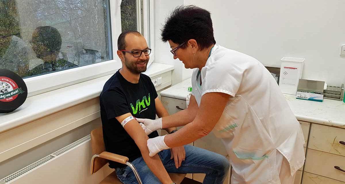 Daruj krev s VKV – důležité informace