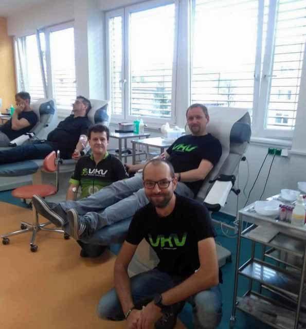 25. 11. 2020: Daruj krev s VKV