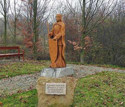Pomník knížete Sáma