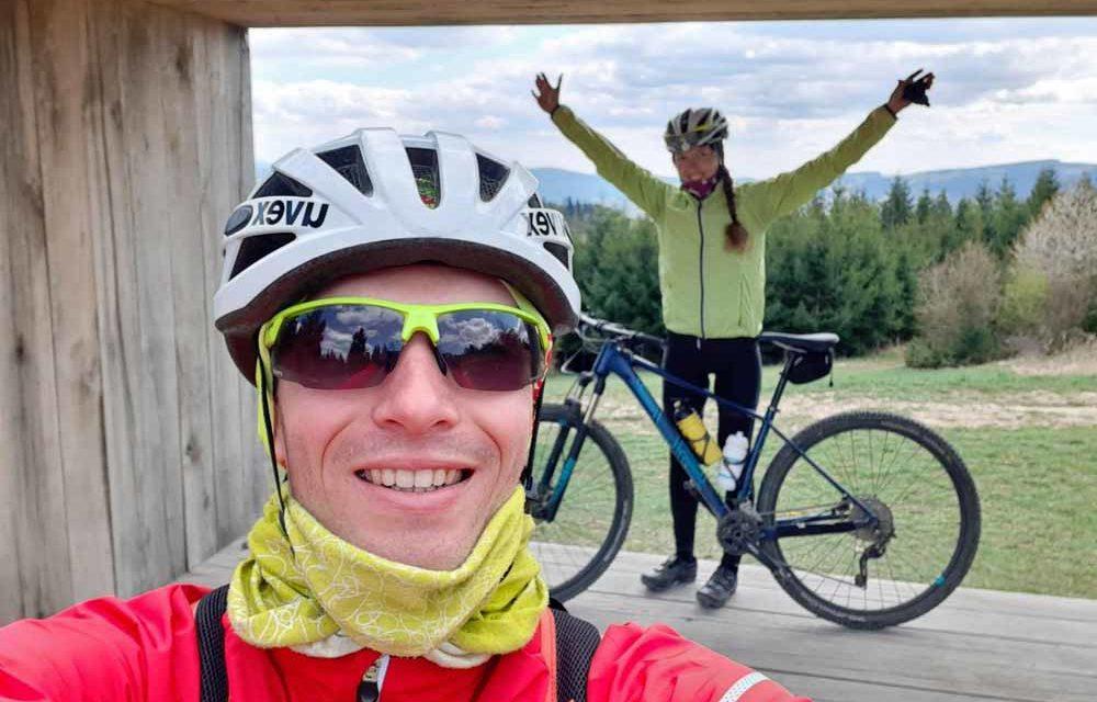 Kristýna Šilhová nejrychlejší bikerkou, doprovázel ji Jakub Kabeláč