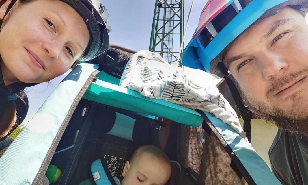 Jan Hříbek jezdí VKV s přívěsným vozíkem