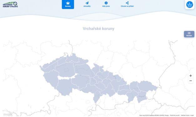 Mobilní aplikace Vrchařská koruna sklízí úspěch