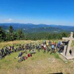 FOTO: Přejezd Javorníků se Svaťou Božákem a organizátory Vrchařských korun