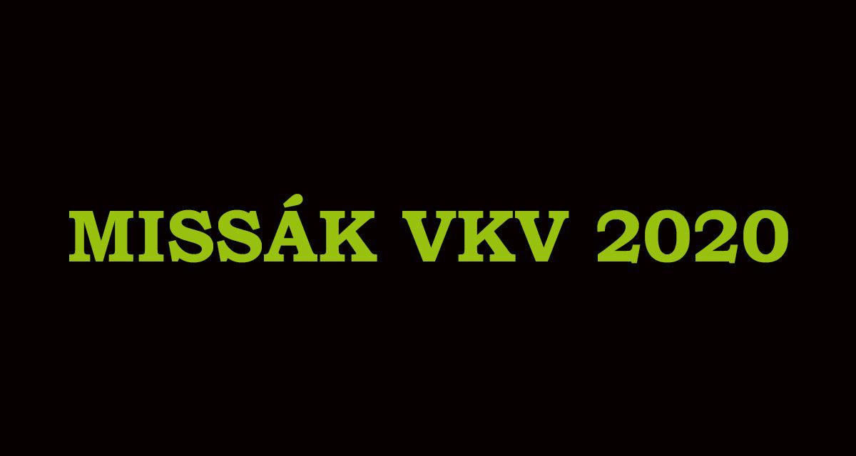 ANKETA: Missák VKV 2020