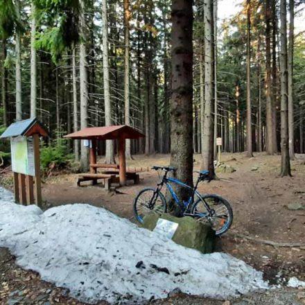Bike aréna Vsetín – nástup na traily Trailala a Duhový