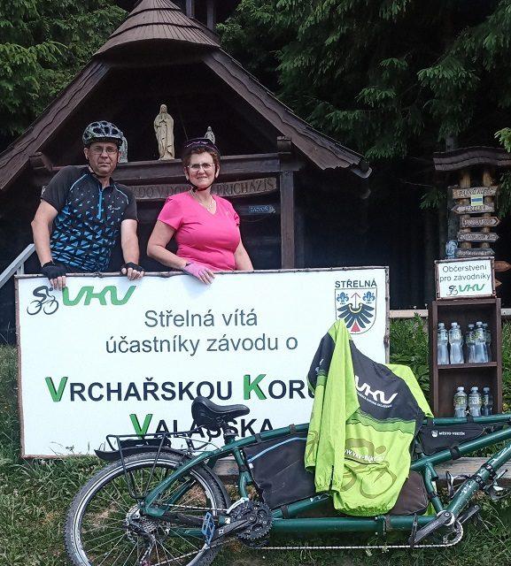 Dana a Ivo Pohořelští opět zdolali vrcholy na tandemovém kole