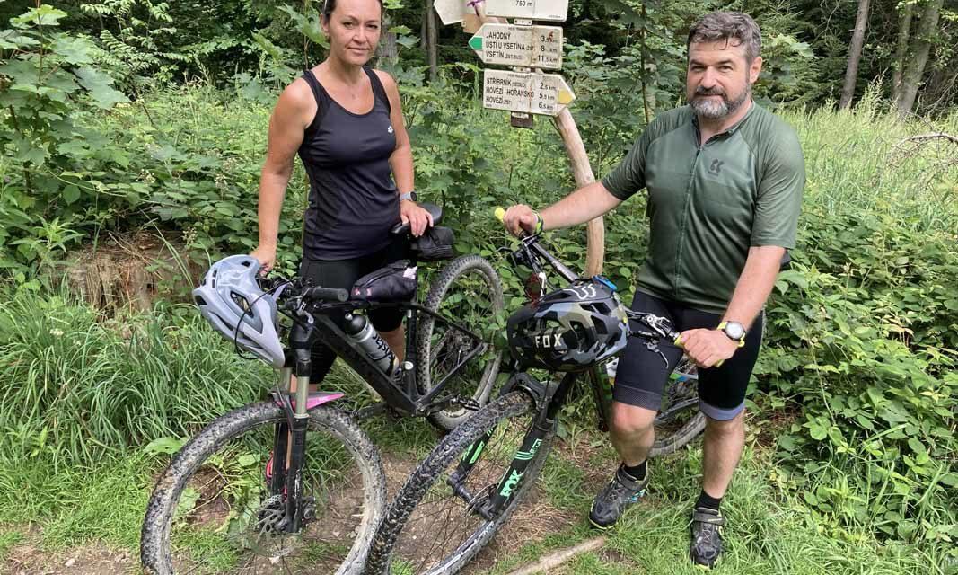 Dagmar a Jakub Klímkovi opět zdolávali vrcholy společně