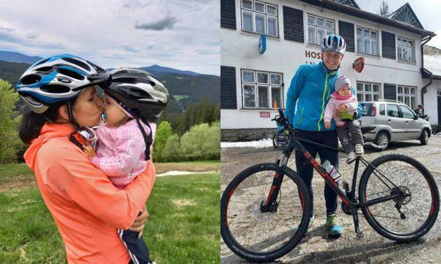 Jana Koutná a Aleš Pavelka jezdili i s přívěsným vozíkem!