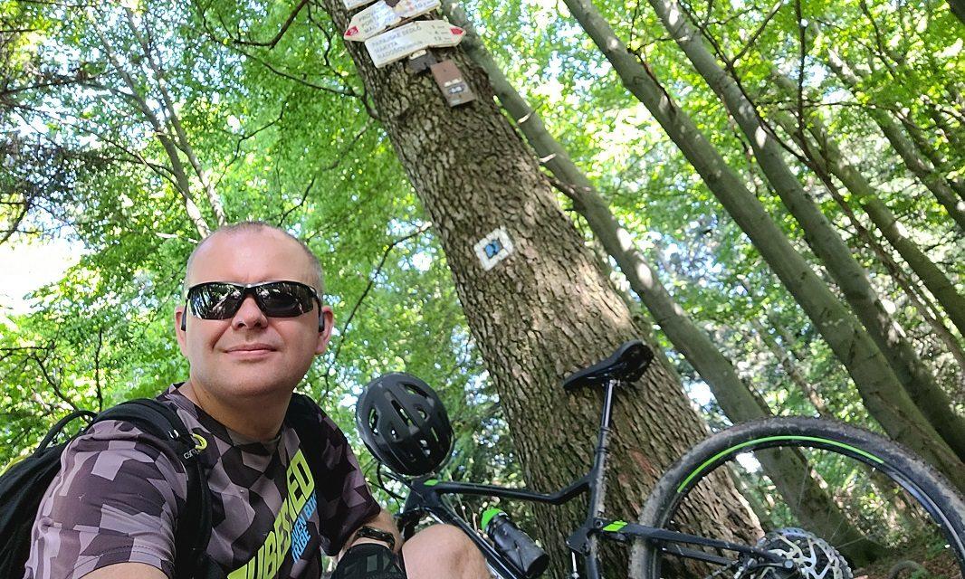 Michal Kopecký si užil VKV i s nocováním v lese